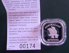 2005 Australia Kookaburra 1/2 oz Silver Proof in OGP + Box + COA - mintage 30000