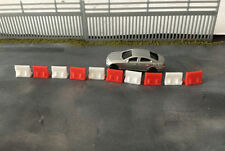 N Scale 1:160 Security fence Jersey barriers X20