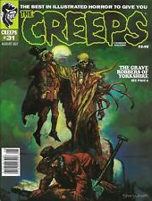 NEW UNCIRCULATED RETAIL The Creeps Magazine # 31 August 2021 Issue