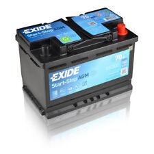 Exide EK700 Stop Start 12V 70Ah 760CCA TYPE 096 AGM VRLA Car Battery - No Spill
