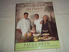 The Lady & Sons, Just Desserts,  Paula Deen - Cookbook - 2006