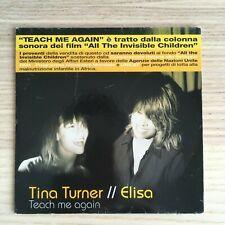 Elisa & Tina Turner - Teach Me Again - CD Single PROMO INS102 - 2006 Sugar