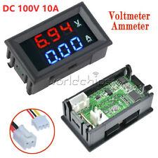 Dc 100v 10a Voltmeter Ammeter Led Amp Dual Digital Volt Meter Gauge