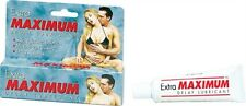 EXTRA MAXIMUM DELAY LUBE LARGE LUBRICANT ADULT ENHANCER Safe effective odorless