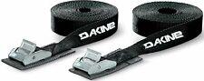 DaKine 12' Tie Down Straps - Black - New 2 Straps Surf Accessories