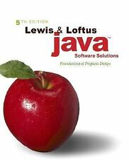 Java Software Solutions: Foundations of Program Design (5th Edition)