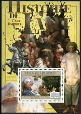 Guinea History of Art Stamps 2011 MNH Baroque Francois Boucher 1v S/S VII