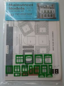 NEW MAINSTREET MODELS OO-GAUGE 4A2 LOW RELIEF HIGH STREET BANK