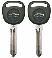 2 Circle Plus Transponder Keys for Chevrolet Silverado Tahoe Traverse Equinox