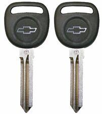 2 Circle Plus Transponder Keys with Chip for Chevrolet B111-PT