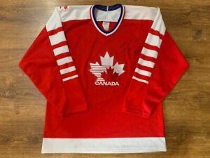 RARE CANADA NATIONAL TEAM ICE HOCKEY SHIRT JERSEY VINTAGE CCM SIZE M