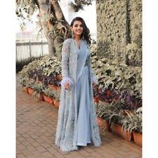 Heavy Koti Sari Saree Indian Ethnic Wedding Party Wear Bollywood Lehenga Choli