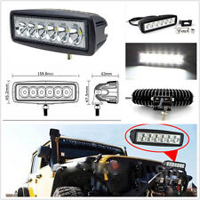 18W 6LED Spot Lamp Driving Fog Light Work Lamp For Jeep Liberty Wrangler Patriot