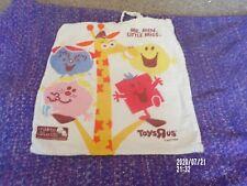 Toys R Us Mr Men & Little Miss Cotton Tote Bag