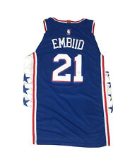 Nike Swingman Jersey Joel Embiid Philadelphia 76ers Mens Sz 48 L Nba Basketball
