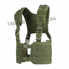 CONDOR MCR7 RONIN MOLLE Chest Rig Quick-Release Split Padded H-Harness Vest OD