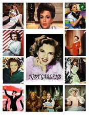 Judy Garland (Color) Photo-Fridge Magnets (12) Images