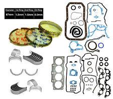 90-95 TOYOTA MR2 CELICA 2.2L 5SFE FULL GASKET SET *ENGINE RE-RING KIT*