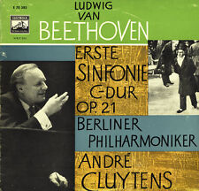 "BEETHOVEN Symphony 1 CLUYTENS Berlin PO EMI E-70385 10"" LOW SHIPPING WORLDWIDE"