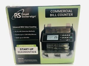 Royal Sovereign Digital Bill Counter RBC-E105-ADBK NEW