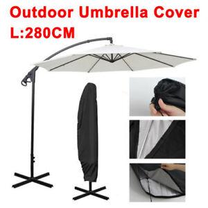 Ampelschirm Abdeckung 280CM Sonnenschirme Schützhülle Regenschirm Wasserdicht DE