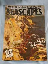 "Walter Foster Art Book ""How To Draw Seascapes""  #9"