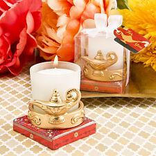 1 Gold Aladdin Magic Lantern Candle Votive Holder Wedding Favor Bridal Shower