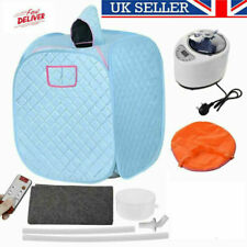 More details for portable steam sauna tent spa slimming loss weight full body detox therapy new