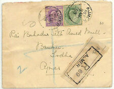 SS29 1909 India kevii * Ajmer * registrato banking Copertura {samwells-copre}