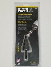 Klein Tools Power Conduit Reamer - Impact Rated 85091 ~  USA!  New!
