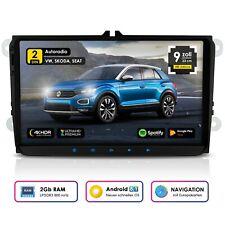 NEOTONE WRX-990A Autoradio für VW | Skoda | Seat | Navi mit EU inkl. | 16GB ROM