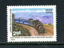 V827  India  1982  Darjeeling Himalayan Railway  trains  1v.   MNH