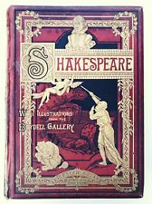 THE WORKS OF WILLIAM SHAKESPEARE (Hardback 1875) Boydell Gallery, Cowden Clarke*