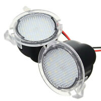 18LED Under Mirror Light Puddle Lamp For Ford S-Max Mondeo Edge 605F-150 hot