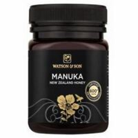 WATSON & SON MANUKA HONEY 600+ PREMIUM 'BLACK LABEL' 500g