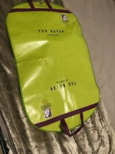 TED BAKER - SUIT CARRIER BAG COVER (GREEN & PURPLE) FREE P&P #7