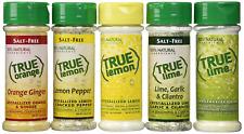 True Citrus Lemon Pepper, Lime Garlic & Cilantro, Orange Ginger, Bonus Includes