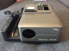 Vintage West German Zeiss Ikon Perkeo 315 AF Slide Projector Working (no Lens)