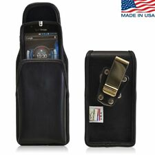 Turtleback Casio Commando C811 Leather Vertical Case Magnet & Rotating Clip