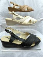 Wedge Sandals Synthetic Heels for Women