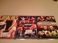 WWE Saturday Night Rivalries Greatest Tag Team 3 DVD Wrestling Set 9 Discs Total