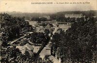 CPA   Bagnoles-de-l'Orne - Le Grand Hotel, vue prise du Roc au Chien  (355323)