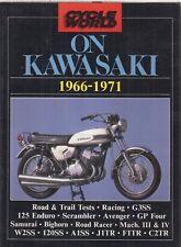 KAWASAKI G3SS 125 ENDURO W2SS 120SS A1SS J1TR F1TR C2TR 1966-71 ROAD TESTS BOOK