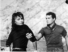 8x10 Original Photo Sophia Loren Scandal in Sorrento 1955 #af018