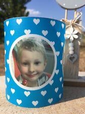 2xGeburtstag Tischlicht  Windlicht  Geschenk Tischdeko mit Foto Name Alter Jungs
