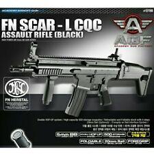 Academy Kids FN Scar-L CQC Asault Rfile Black Airsoft BB Gun With 1600 BB Pellet