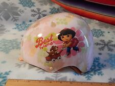 Nickelodeon's DORA THE EXPLORER - 2009 Dora Puppy SAFETY HELMET (Adjust.)