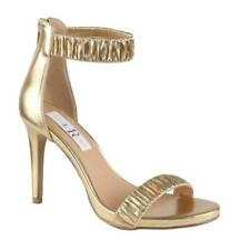 BRAND NEW Gold Stiletto High Heels Ladies Size 6