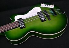 2nd HOFNER IGNITION PRO HI-CB-PE-GR CLUB BASS GREEN, Tea Cup's ROUND WOUNDS