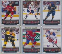 2013-14 Upper Deck Series 1 Young Guns Rookie YOU CHOOSE